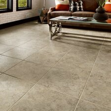"""Alterna 16"""" x 16"""" Engineered Stone Field Tile in Taupe/Gray"""