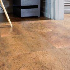 """CorkComfort 17-1/2"""" Cork Flooring in Moccaccino"""