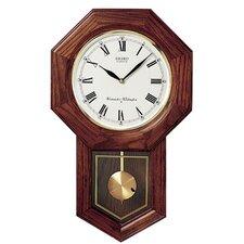 "13"" Schoolhouse Pendulum Wall Clock"