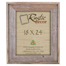 rustic reclaimed barn wood wall picture frame