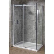 Sliding Door Rectangular Shower Enclosure