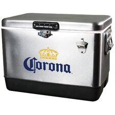 54 Qt. Corona Stainless Steel Ice Chest Cooler