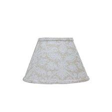 "Damask Flax 5"" Linen Empire Candelabra Shade"