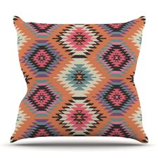 Navajo Dreams by Amanda Lane Outdoor Throw Pillow