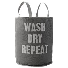"""Wash Dry Repeat"" Laundry Bag"