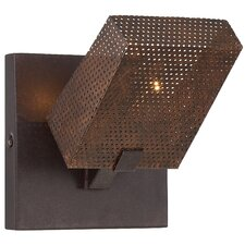 Gold Rush 1-Light Wall Sconce