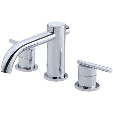 Parma Double Handle Deck Mount Roman Tub Faucet