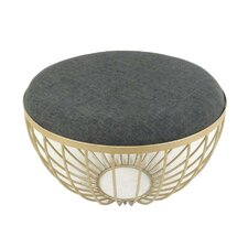Metal with Fabric Stool