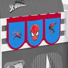 Spiderman Bunk Bed Pockets