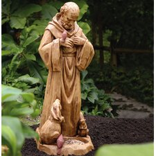 St Francis Statuary Decorative Bird Feeder