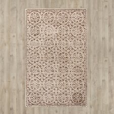 Bartlette Hand-Tufted Tan Area Rug