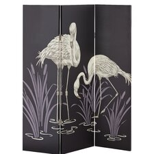 150cm x 120cm Lochs and Lagoons 3 Panel Room Divider