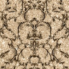 Baroque 10m L x 53cm W Scroll Roll Wallpaper