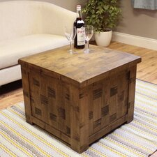 Heyford Rough Sawn Oak Coffee Table with Lift Top