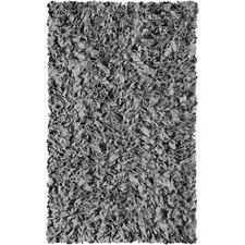 Handmade Grey Area Rug