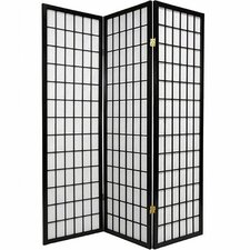 "Triana 70"" x 51"" Gia 3 Panel Room Divider"