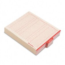 """Outguides, Red Center """"Out"""" Tab, Letter, 100/Box"""