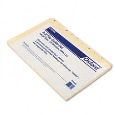 Recycled Top Tab File Guides, Alpha, 1/5 Tab, Legal (Set of 25)