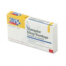 First-Aid Refill Sling/Tourniquet Triangular Bandages, 10/Pack