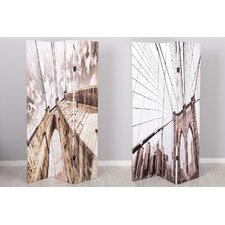 180cm x 120cm Canvas 3 Panel Room Divider