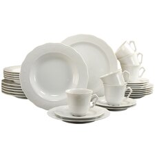 Gloria 30 Piece Dinnerware Set with Mug, Service for 6
