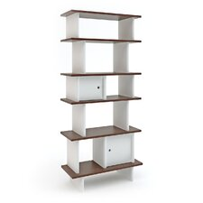 "Vertical Mini Library 65"" Bookcase"
