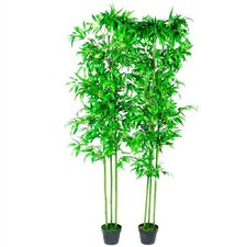 Bamboo Artificial Plants (Set of 2)