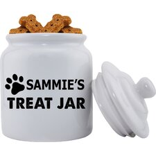 Personalized Pet Treat Jar