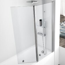 Aurora 150cm x 120cm Pivot Bath Screen