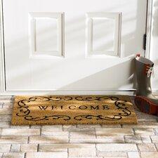 Wayfair Basics Welcome Doormat in Natural