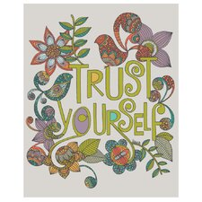 Trust Yourself by Valentina Harper Wall Decal