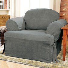 Soft Suede Armchair T Cushion