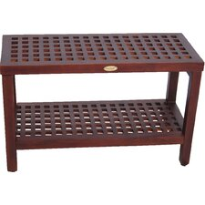 Espalier Teak Shower Seat