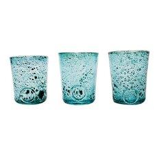 3-tlg. 13 cm Glas