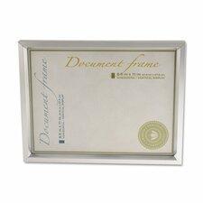 Plastic Document Frame for 8 1/2 X 11 (Set of 2)