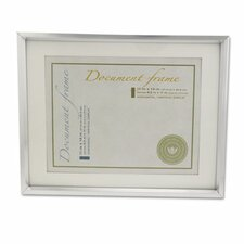 Plastic Document Frame for 11 X 14 Insert with Mat