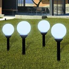 4-tlg. LED Wegeleuchten-Set