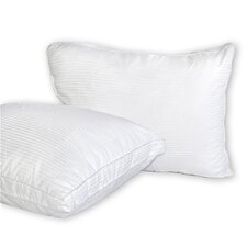 Medium Firmness Gusseted Fiber Pillow (Set of 2)