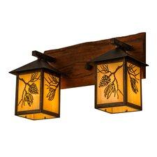 Greenbriar 2-Light Outdoor Wall Lantern