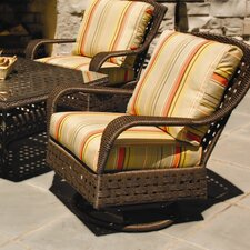 Haven Lounge Swivel Glider Chair with Cushion