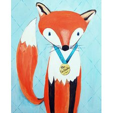 Dream a Little Dream 'Mr. Fantastic' by Liz Clay Painting Print on Canvas