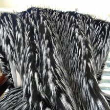 Wolf Fur Handmade Throw