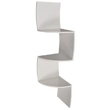 3 Tier Curved Wall Mounted Corner Shelf