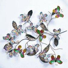 Bali Garden Butterflies Wall Décor