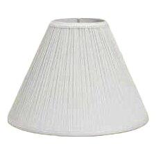 "10"" Pleated Linen Empire Lamp Shade"
