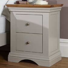 Marbury 2 Drawer Bedside Table