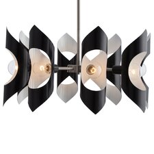8-Light Semi Flush Mount