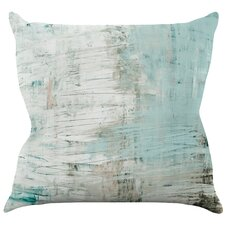 Digby Bluish by Iris Lehnhardt Throw Pillow