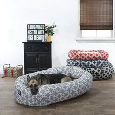 Links Sherpa Bagel Bolster Pet Bed