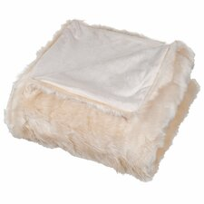 Bertha Faux Fur Throw Blanket